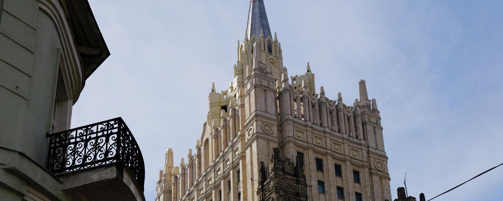 Das Außenministerium Russlands (Archiv) - SNA, 1920, 07.07.2021