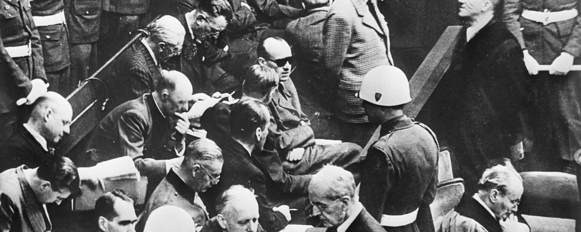 Angeklagte beim Nürnberger Tribunal gegen Nazi-Verbrecher - SNA, 1920, 28.04.2021