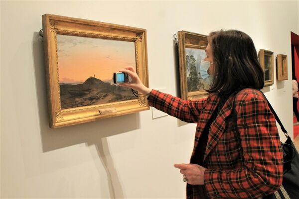 """Ausstellung """"Träume von Freiheit. Romantik in Russland und Deutschland"""" in der Tretjakow-Galerie - SNA"""