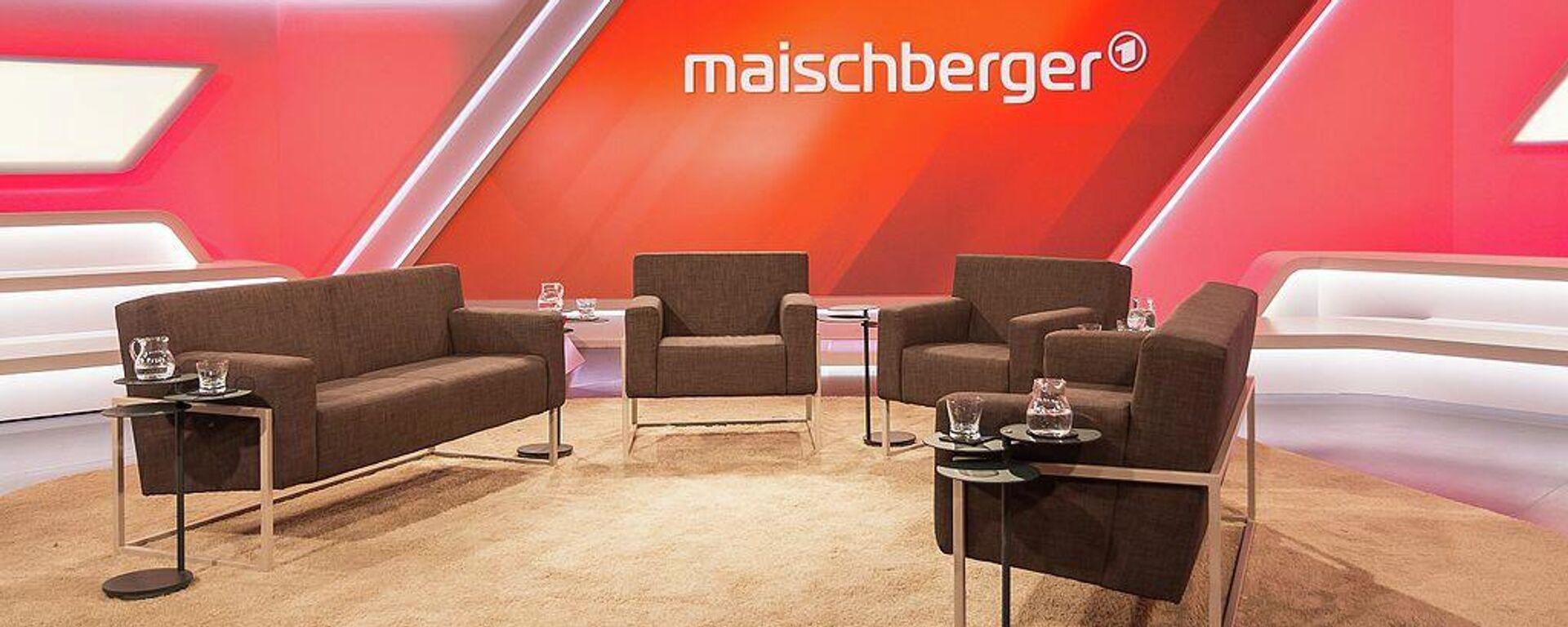 Maischberger-Studio (Archivbild) - SNA, 1920, 29.04.2021