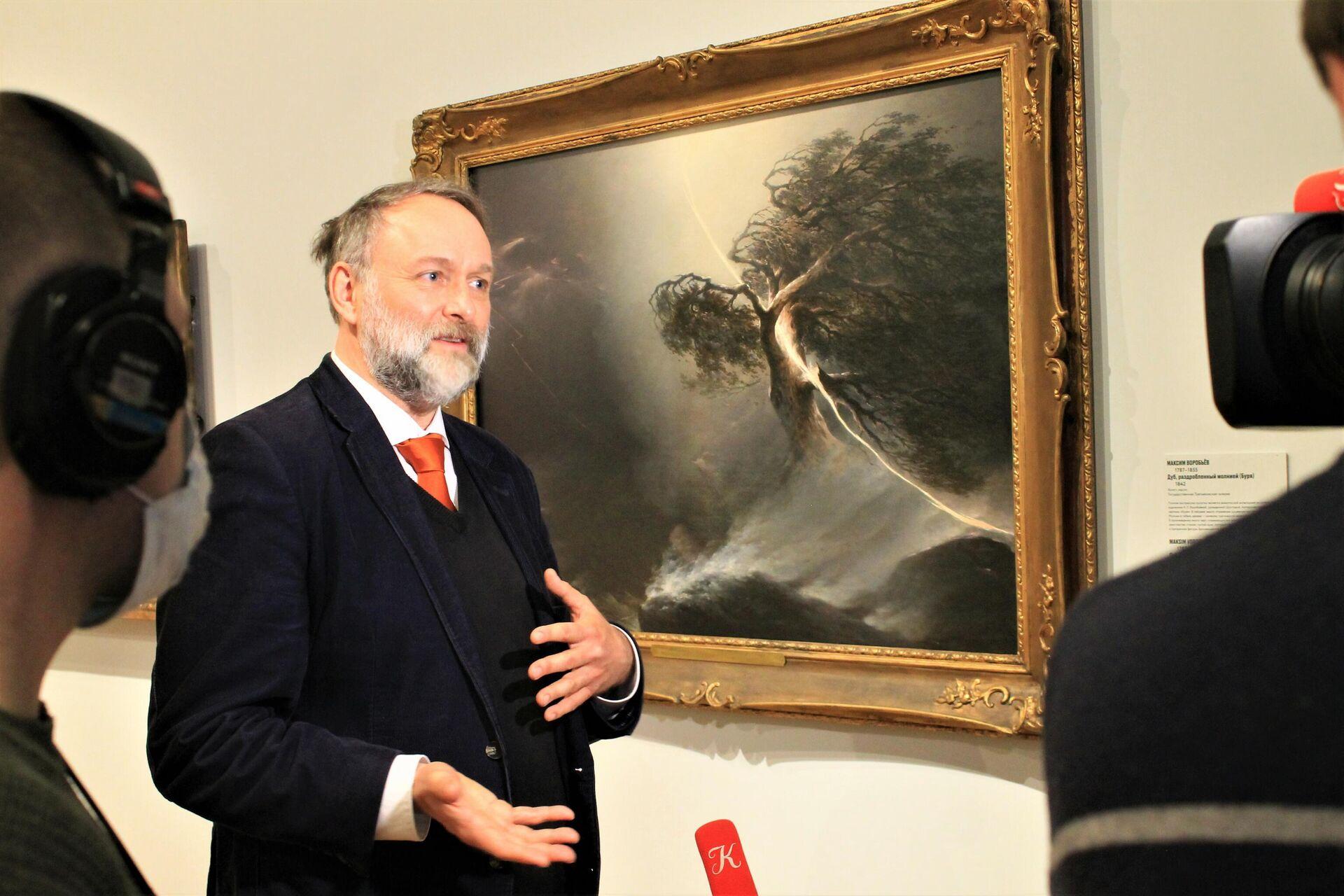 Holger Birkholz, Kurator der Ausstellung - SNA, 1920, 29.04.2021