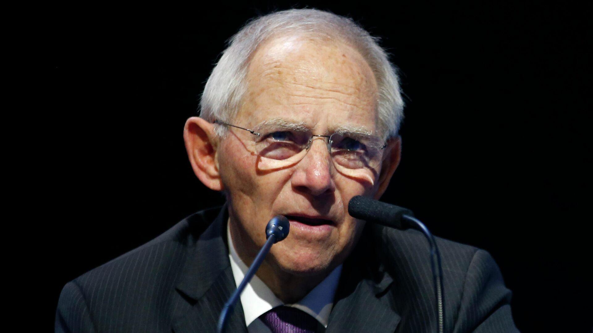 Der Präsident des Deutschen Bundestages, Wolfgang Schäuble.  - SNA, 1920, 10.07.2021
