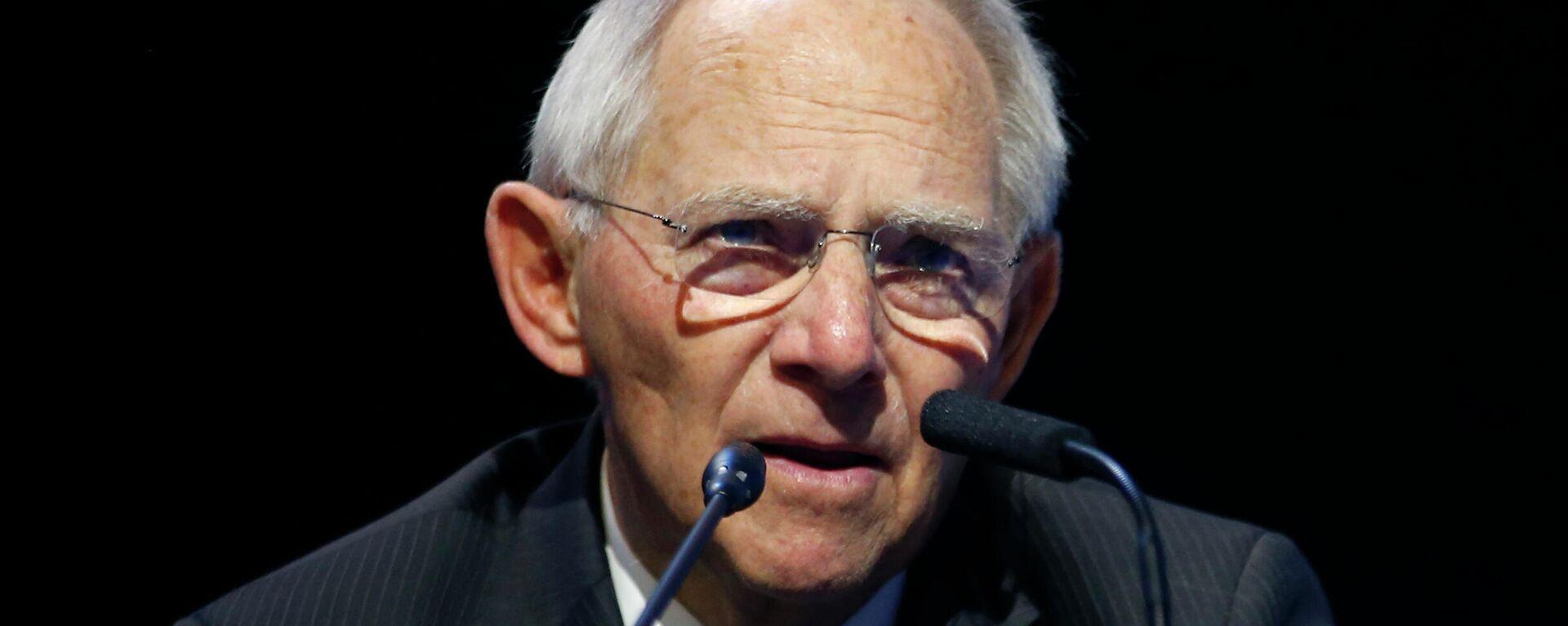 Der Präsident des Deutschen Bundestages, Wolfgang Schäuble.  - SNA, 1920, 06.07.2021