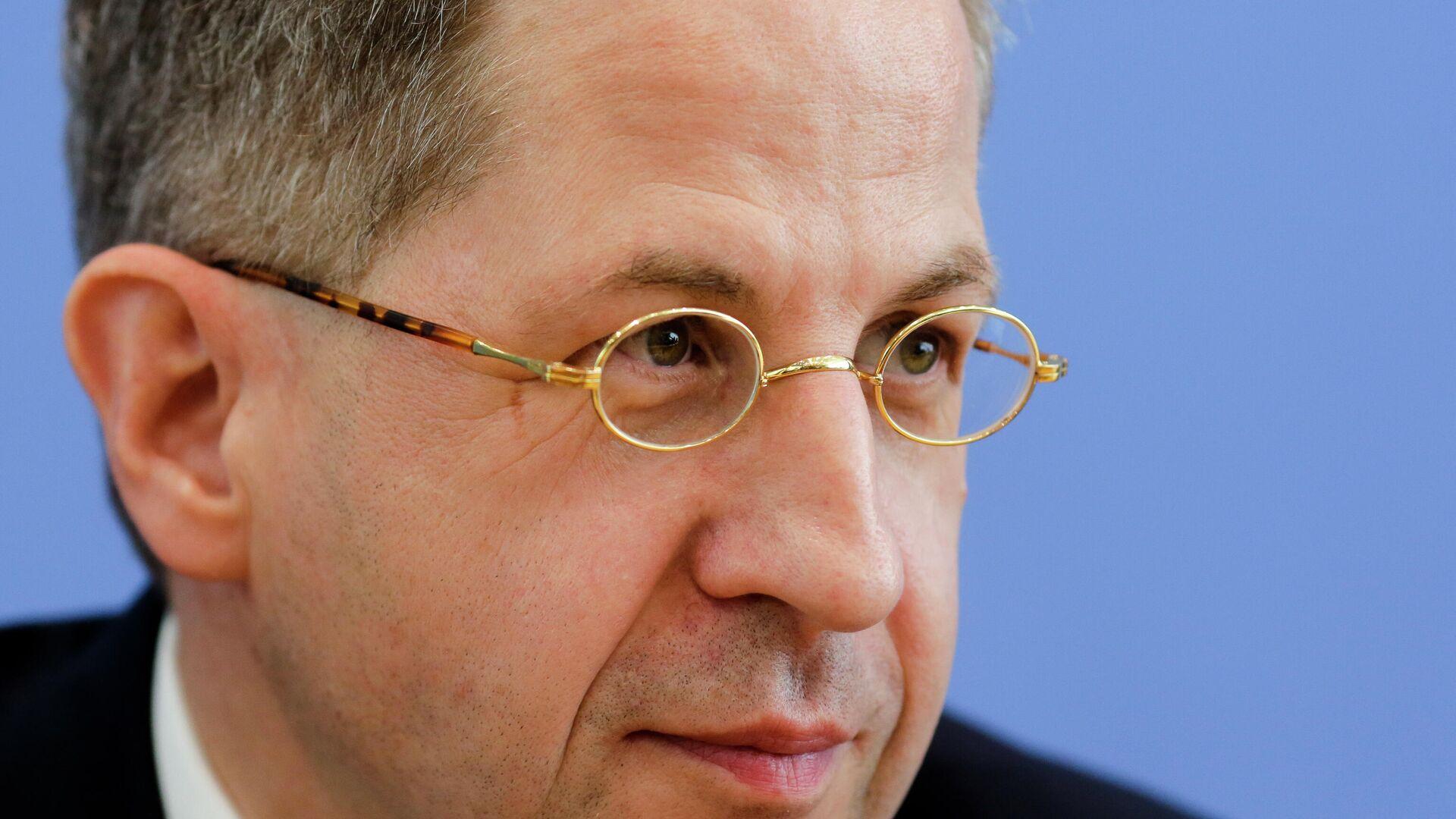 Der Ex-Verfassungsschutzpräsident Hans-Georg Maaßen nimmt an einer Pressekonferenz teil, 24. Juli 2018. (Archivbild) - SNA, 1920, 10.09.2021