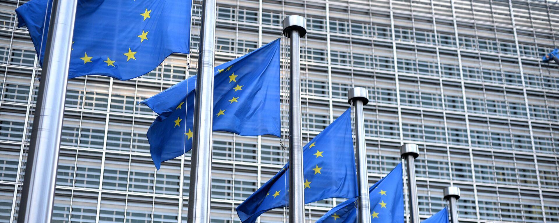 Hauptquartier der EU-Kommission in Brüssel - SNA, 1920, 24.05.2021