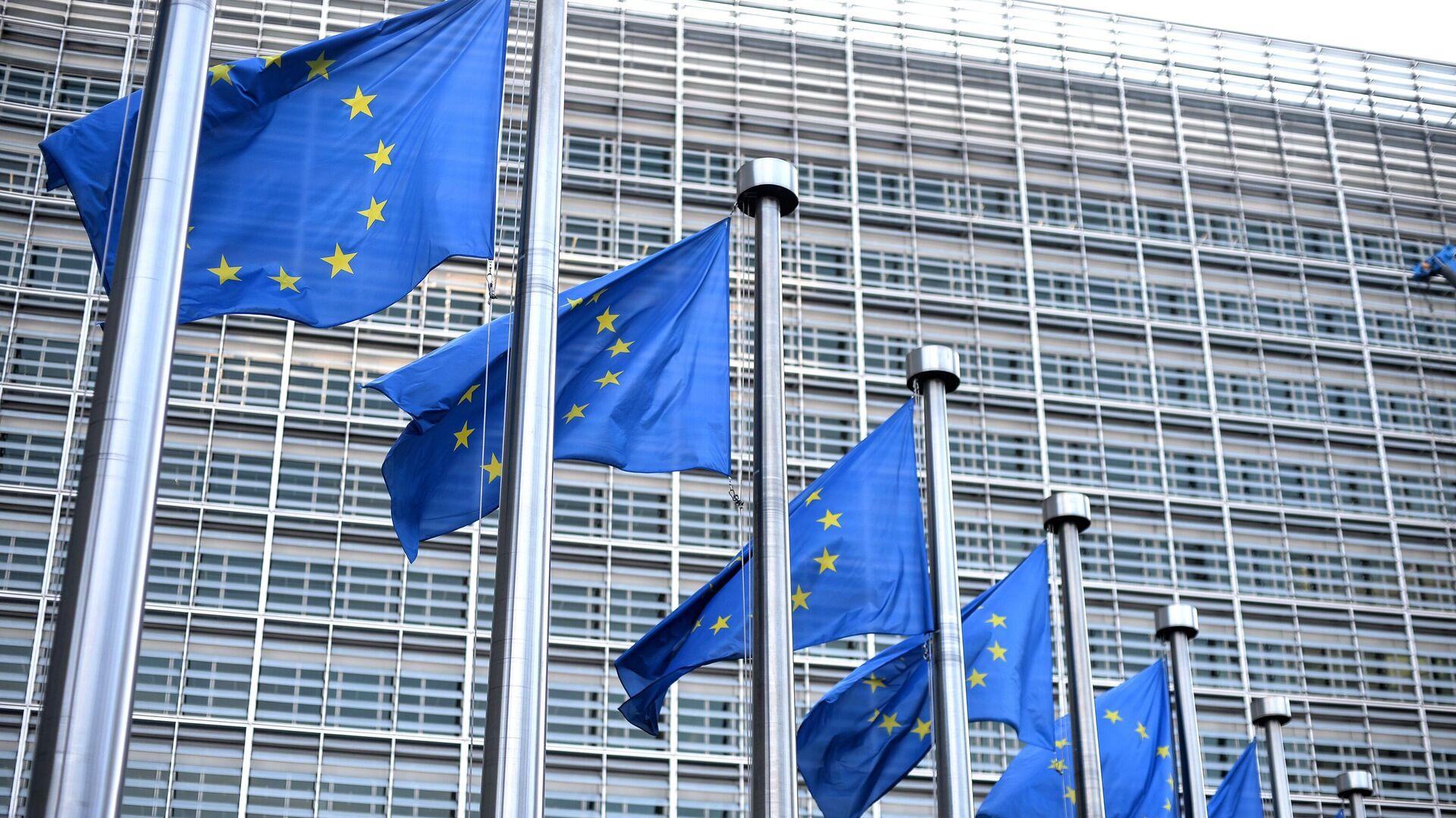 Hauptquartier der EU-Kommission in Brüssel - SNA, 1920, 06.10.2021