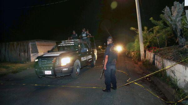 Polizei in Mexiko - SNA