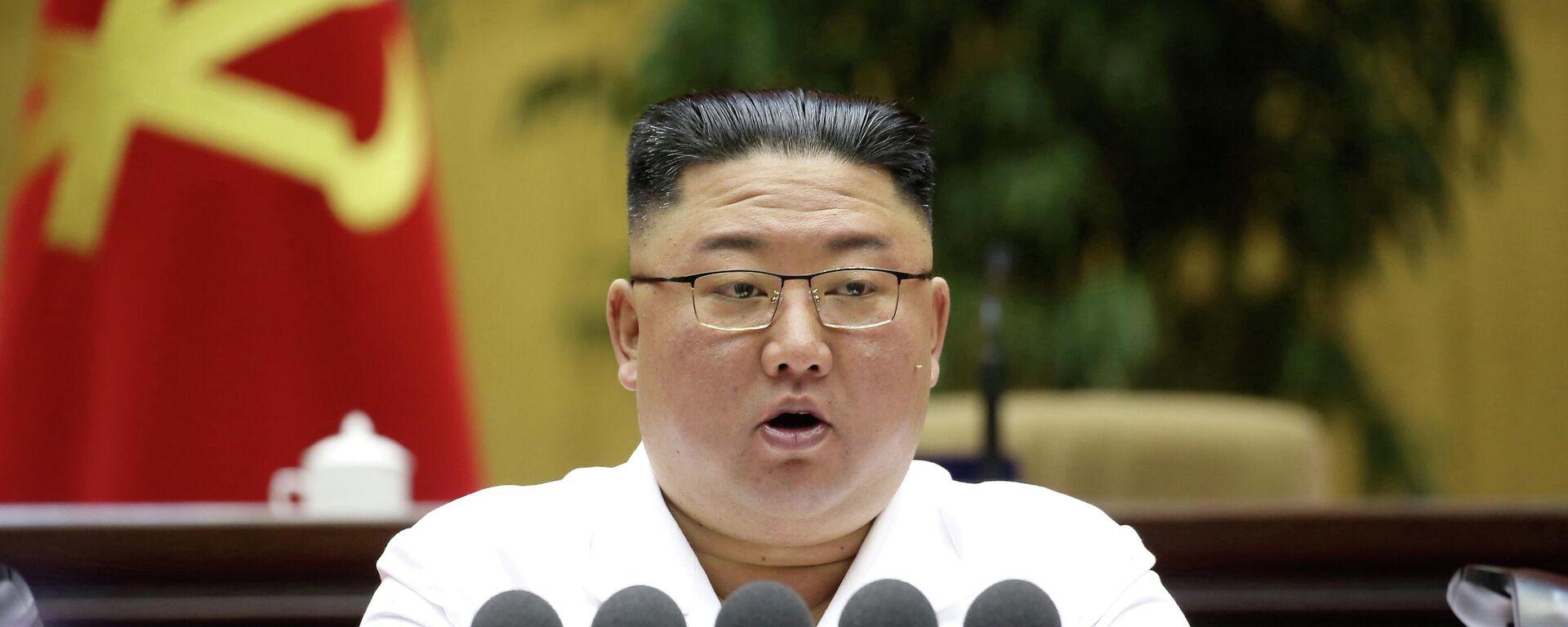 Nordkoreas Staatschef Kim Jong-un - SNA, 1920, 27.05.2021