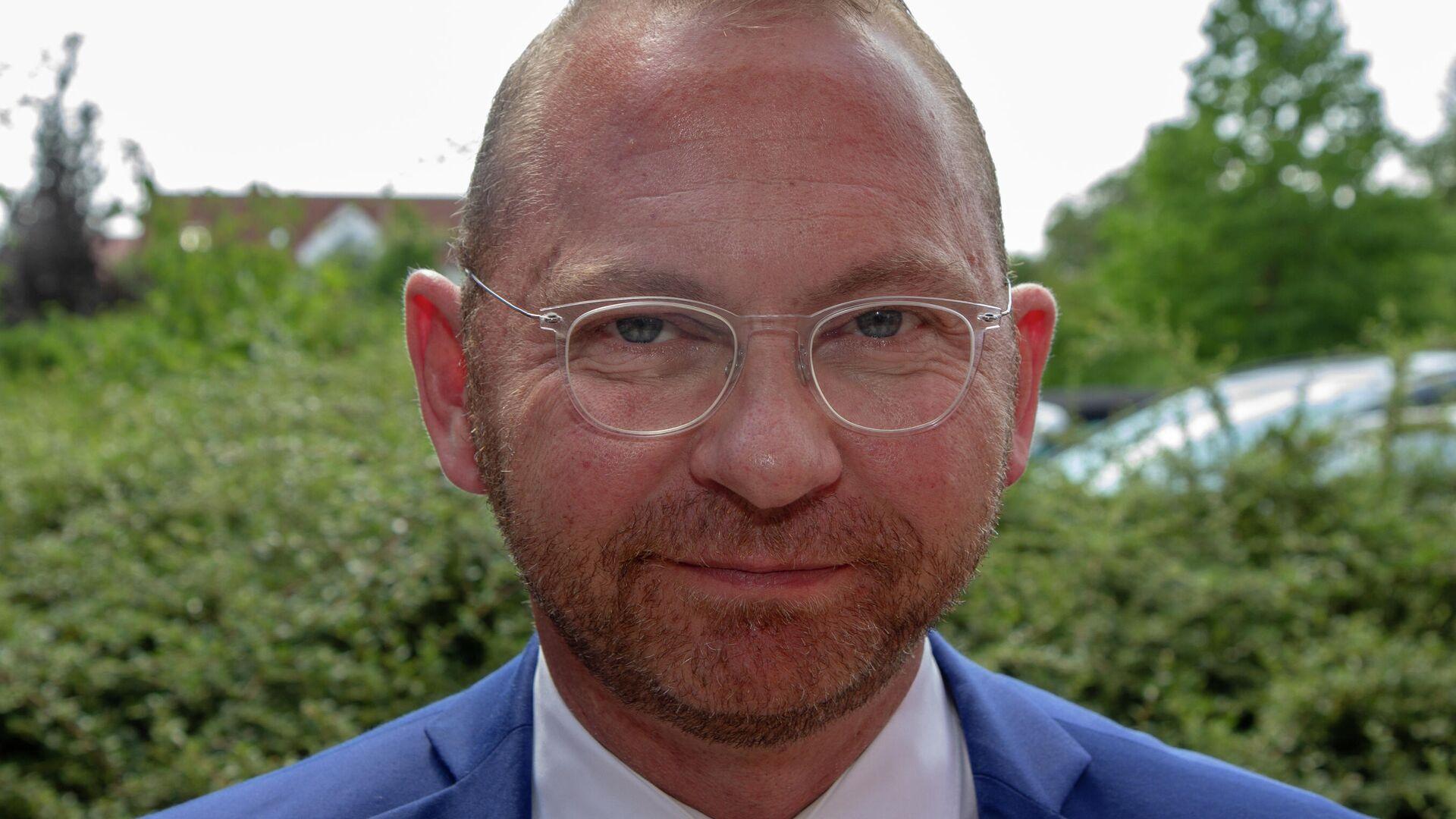 Vorsitzender der Vereinten Dienstleistungsgewerkschaft Frank Werneke - SNA, 1920, 01.05.2021
