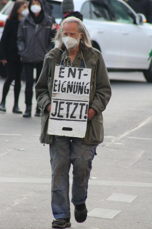 Demo am Ersten Mai in Berlin. - SNA, 1920, 02.05.2021