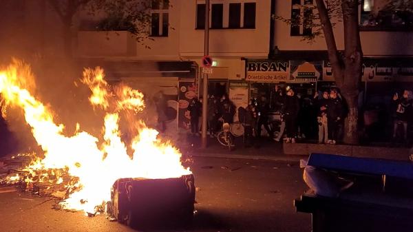 Demo in Berlin am 1. Mai - SNA