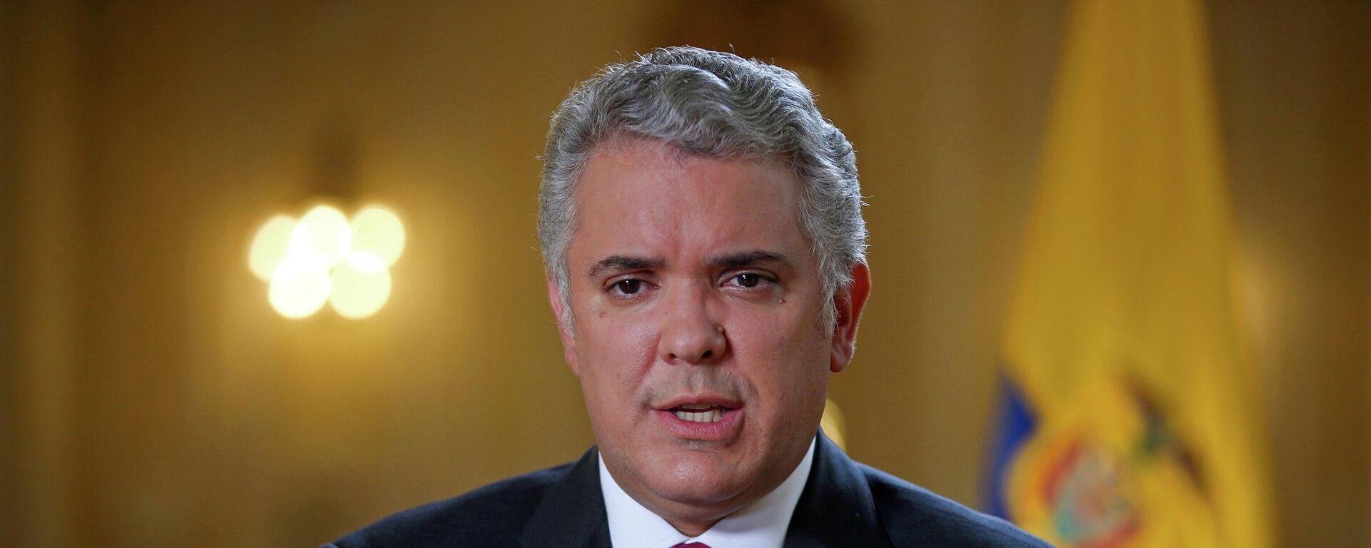 Kolumbiens Präsident Iván Duque  - SNA, 1920, 02.05.2021