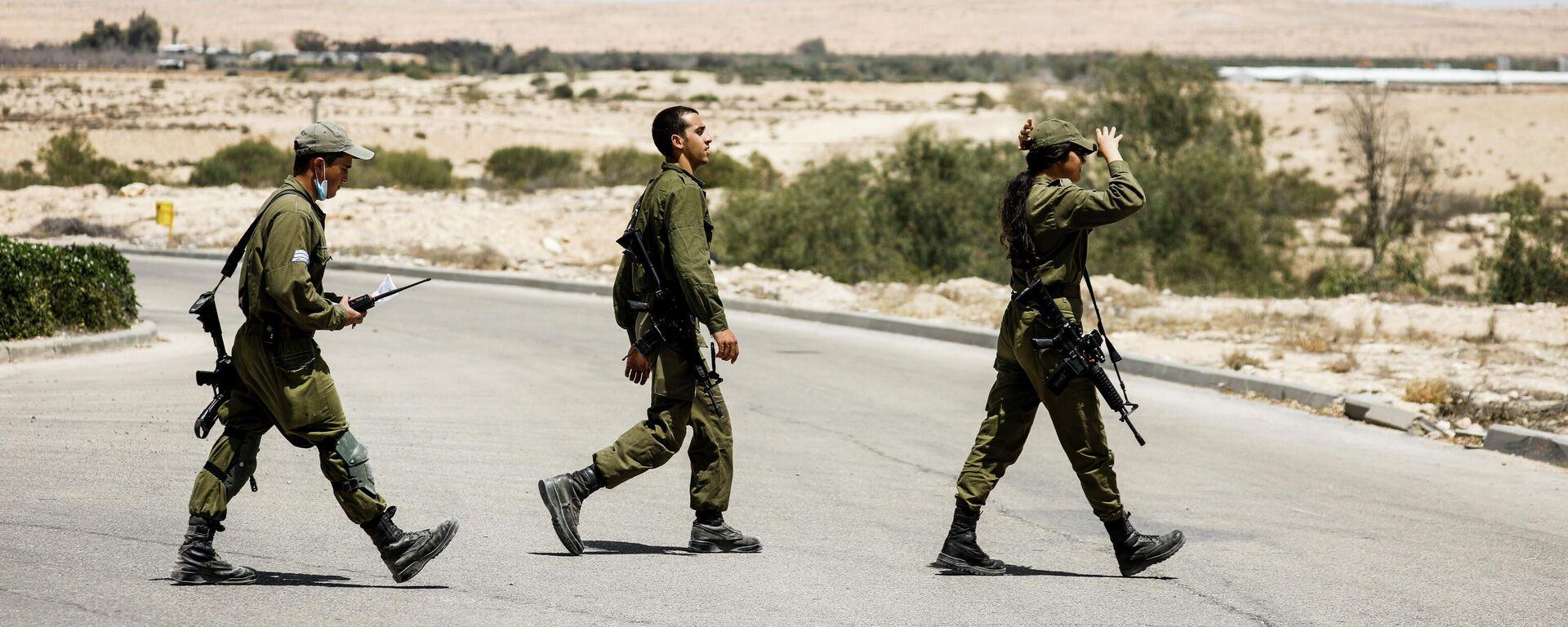 Israelische Soldaten  - SNA, 1920, 29.05.2021