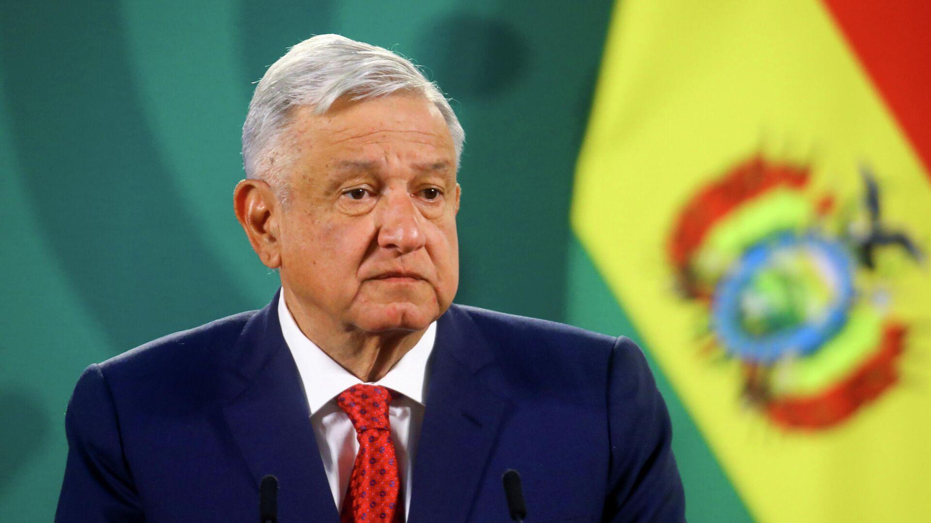 Mexikos Präsident Andres Manuel Lopez Obrador (Archivfoto) - SNA, 1920, 17.05.2021