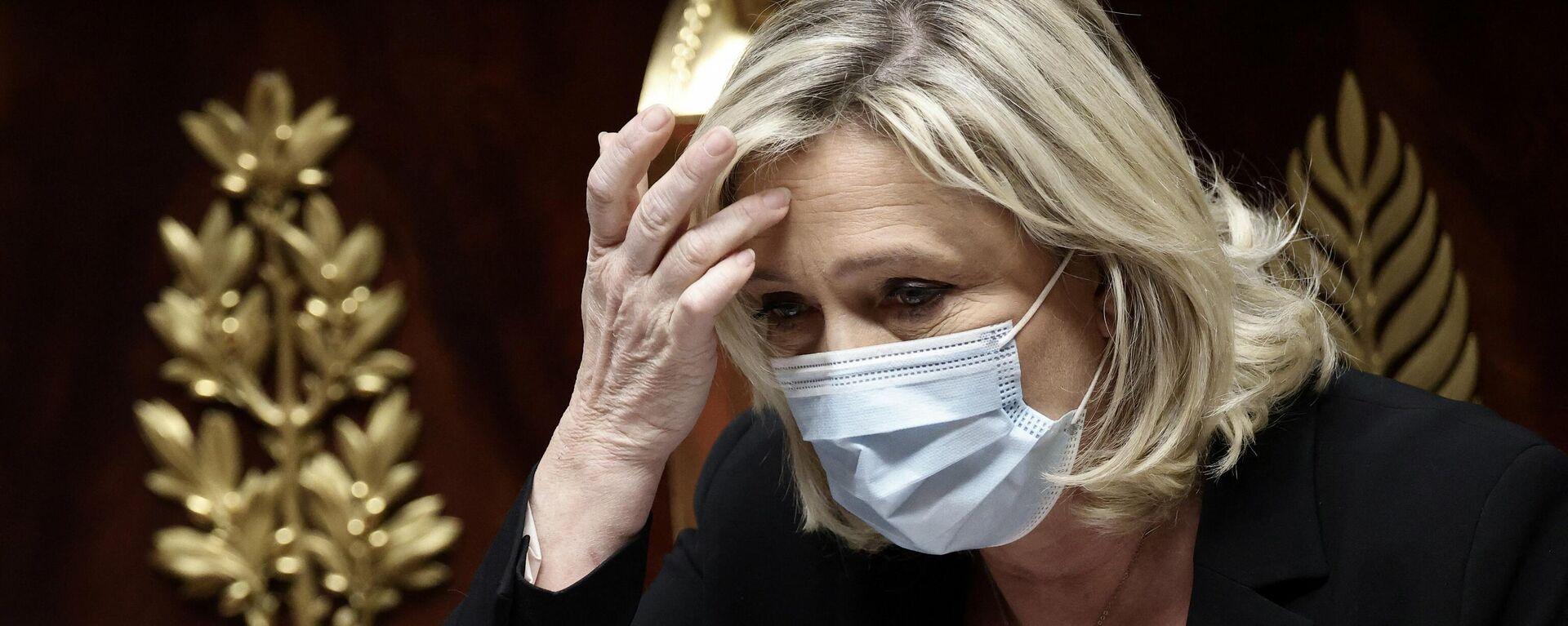 Marine Le Pen - SNA, 1920, 04.05.2021