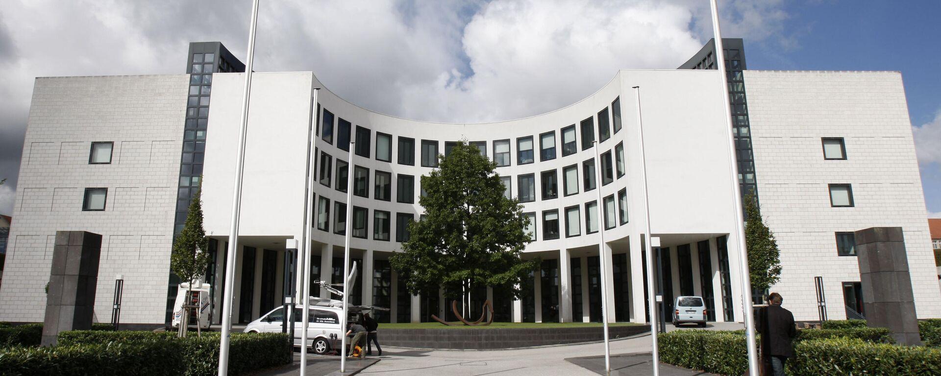 Das Gebäude der Bundesanwaltschaft in Karlsruhe - SNA, 1920, 01.10.2021