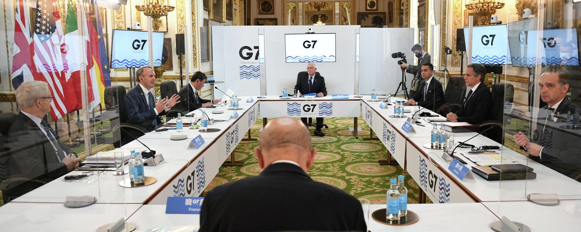 Treffen der G7-Außenminister in London, 4. Mai 2021 - SNA, 1920, 05.05.2021