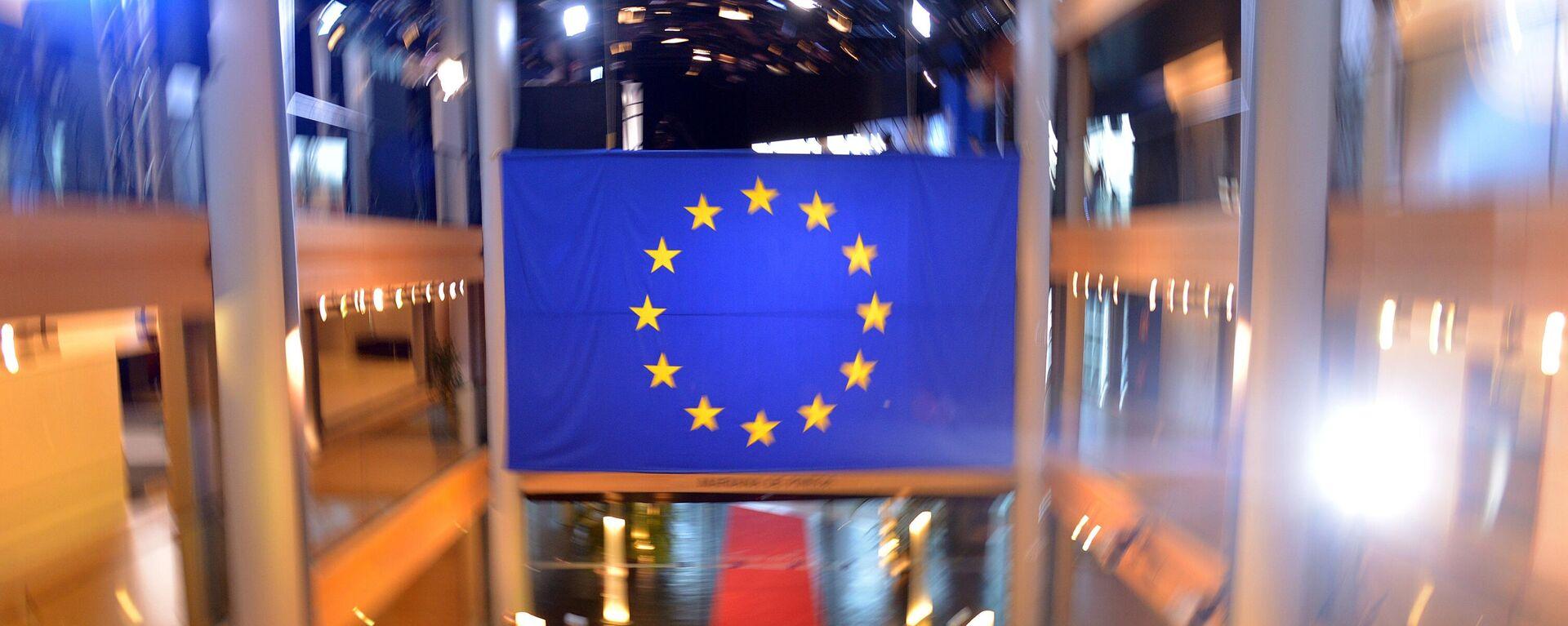 Die Flagge der Europäischen Union - SNA, 1920, 30.06.2021
