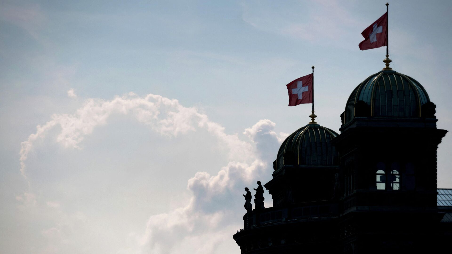 Gebäude des schweizerischen Parlaments in Bern (Archivbild) - SNA, 1920, 05.05.2021