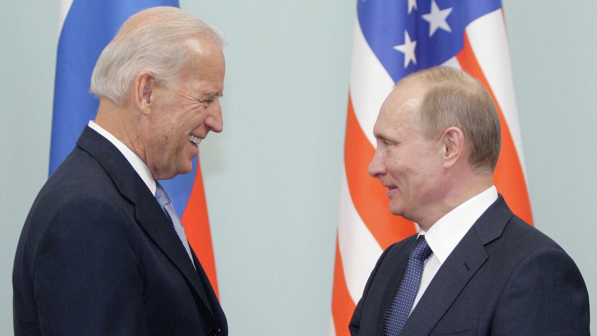 Treffen von Wladimir Putin und Joe Biden in Moskau - SNA, 1920, 25.05.2021