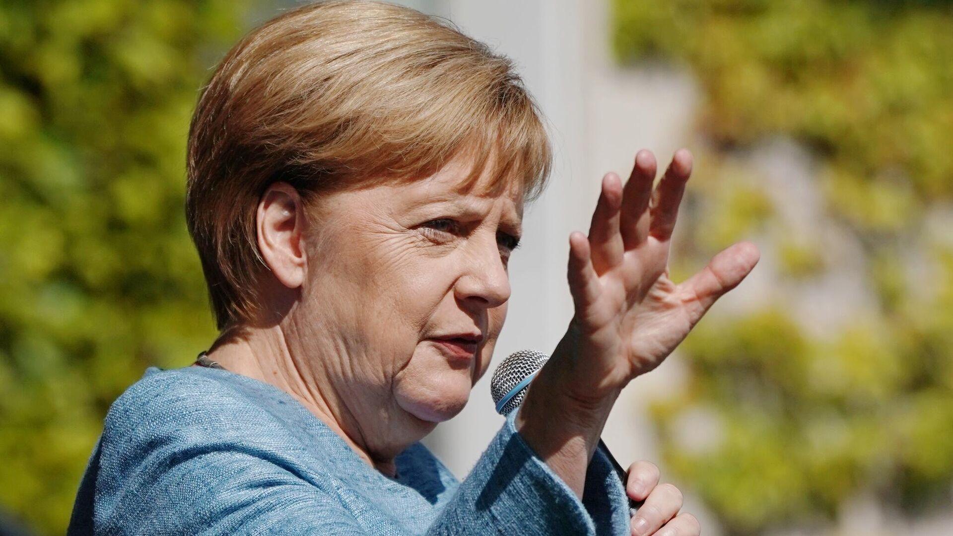 Bundeskanzlerin Merkel - SNA, 1920, 24.05.2021