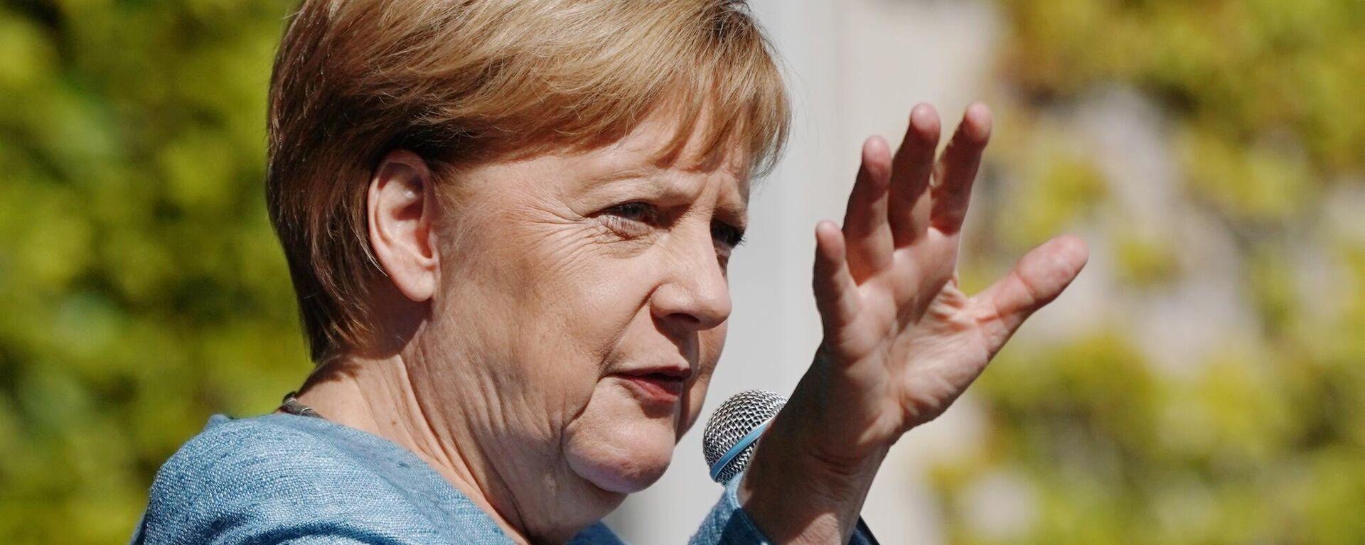 Bundeskanzlerin Merkel - SNA, 1920, 07.09.2021