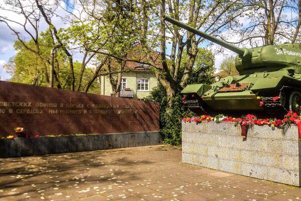 Panzerdenkmal am Deutsch-Russischen Museum Berlin-Karlshorst - SNA
