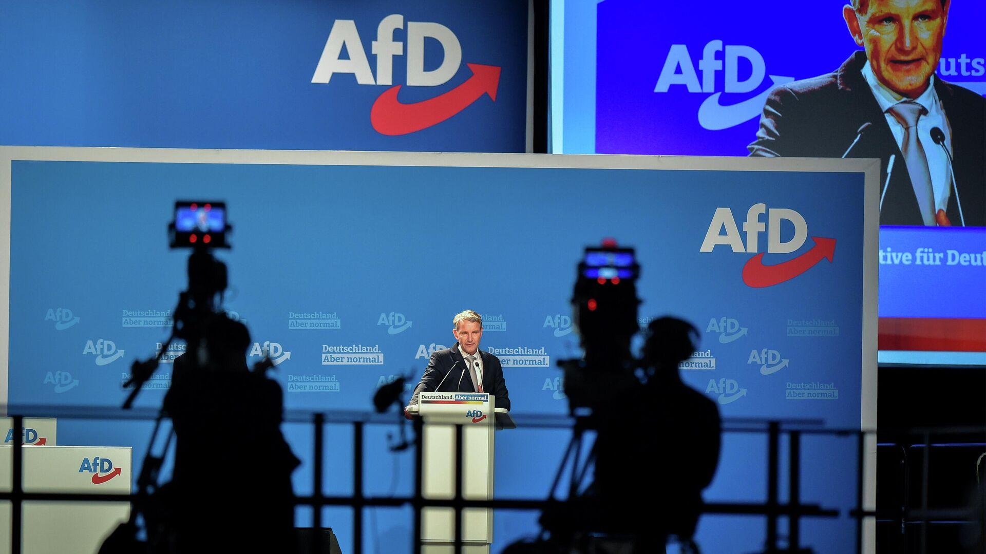 Björn Höcke beim AfD-Parteitag - SNA, 1920, 12.05.2021