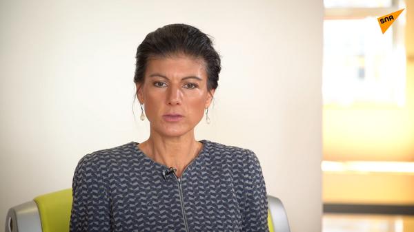 Interview mit Sahra Wagenknecht - SNA