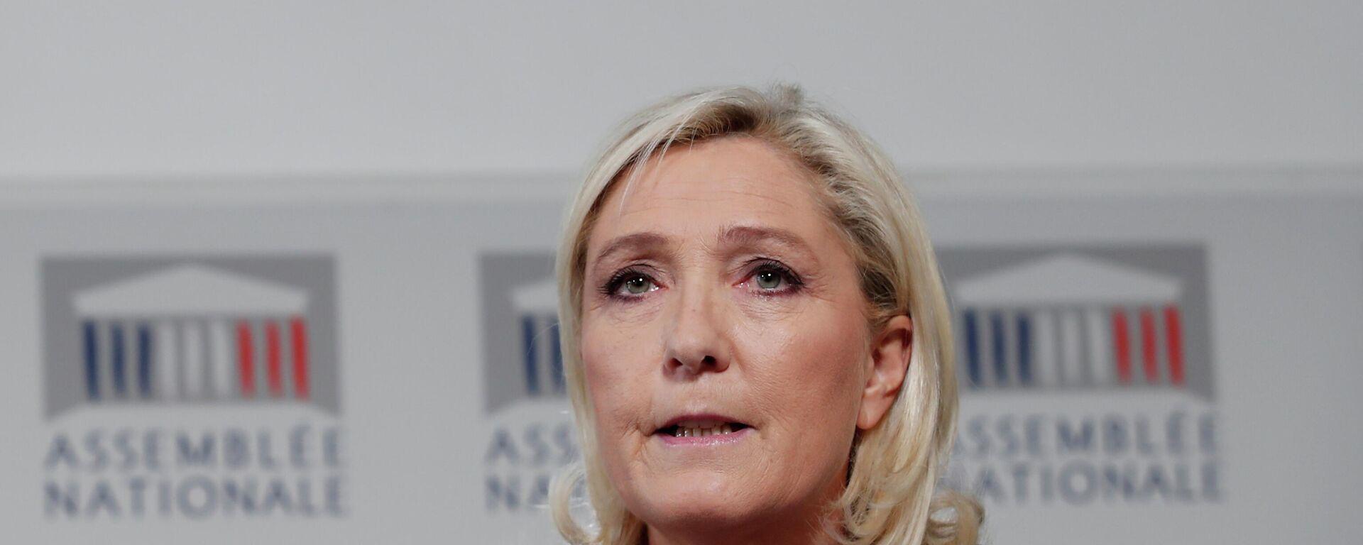 Marine Le Pen - SNA, 1920, 10.05.2021