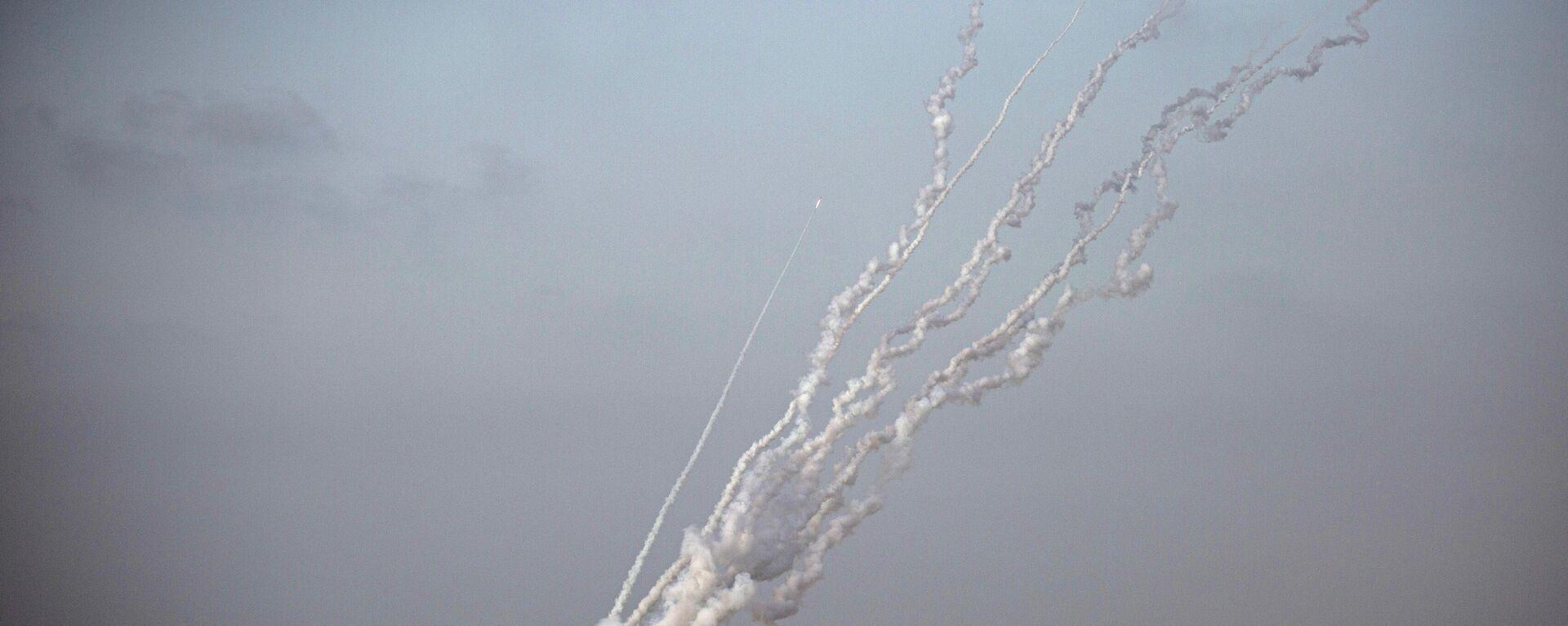 Angriff aus dem Gazastreifen auf Israel (Archivbild) - SNA, 1920, 18.06.2021
