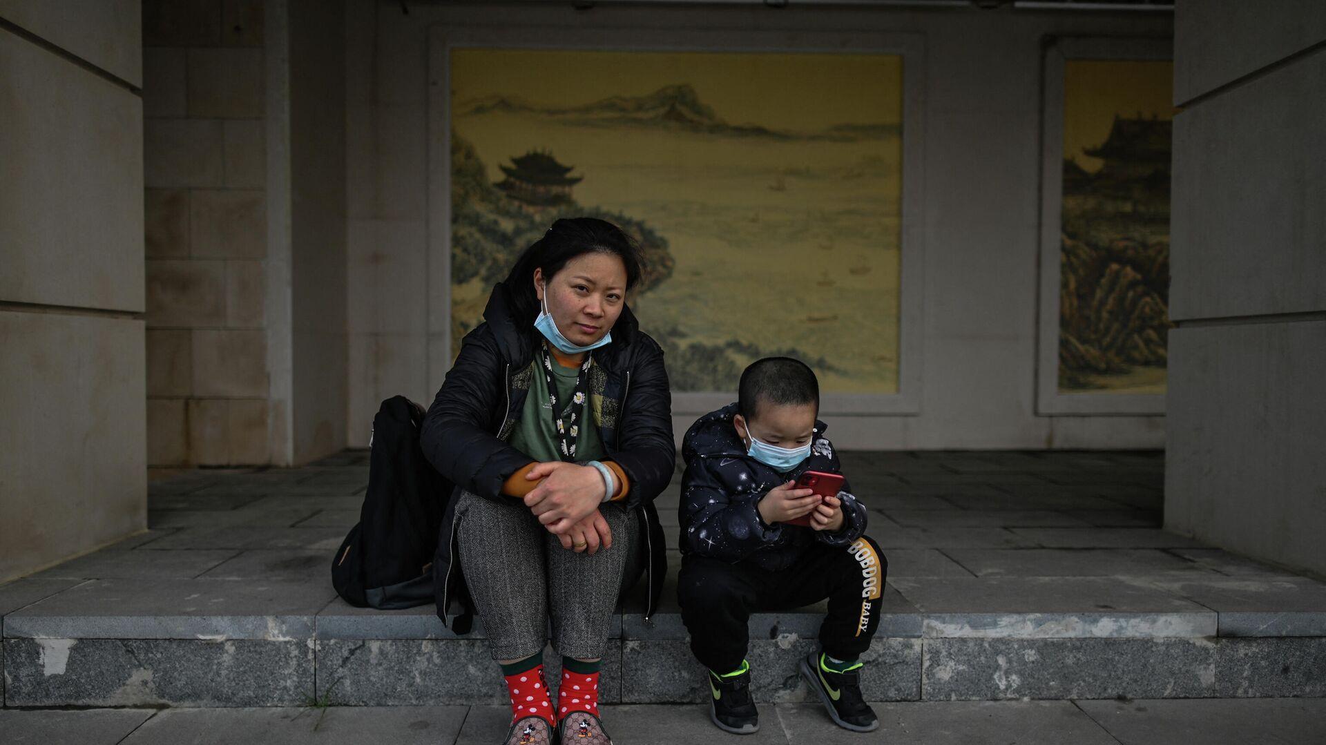 Eine chinesische Frau mit einem Kind  - SNA, 1920, 11.05.2021
