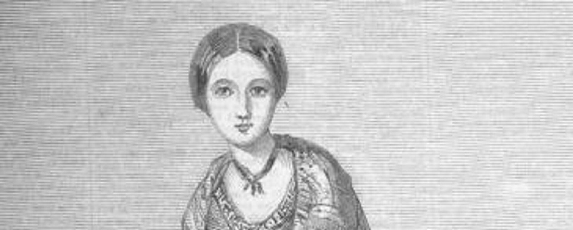 Florence Nightingale im Jahre 1850 (Zeichnung von ihrer Schwester Parthenope) - SNA, 1920, 12.05.2021