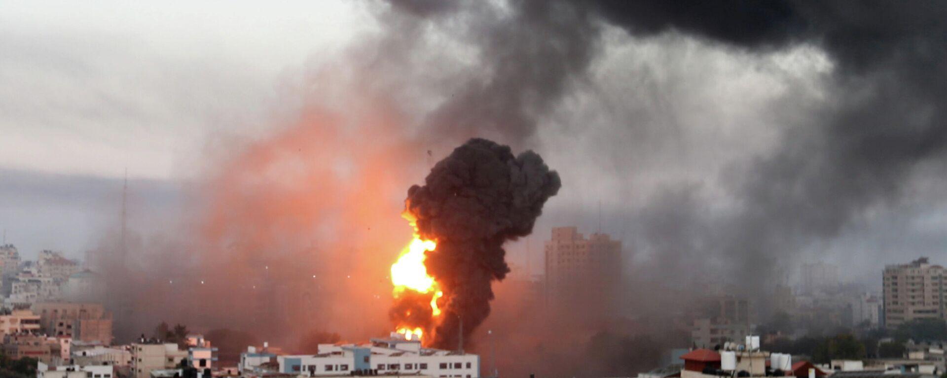 Israelische Raketenangriffe auf Gaza, 12. Mai 2021 - SNA, 1920, 13.05.2021