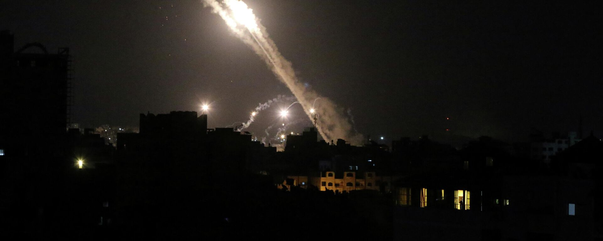 Raketenangriff auf Israel  - SNA, 1920, 13.05.2021