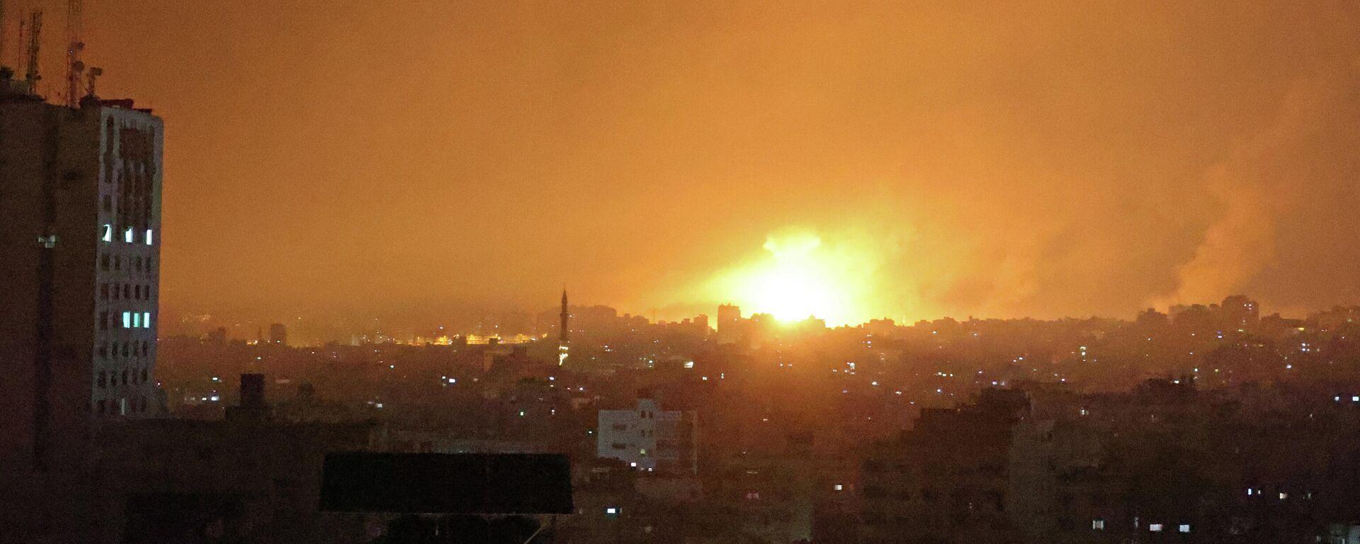 Israels Luftangriffe auf Gazastreifen  - SNA, 1920, 14.05.2021