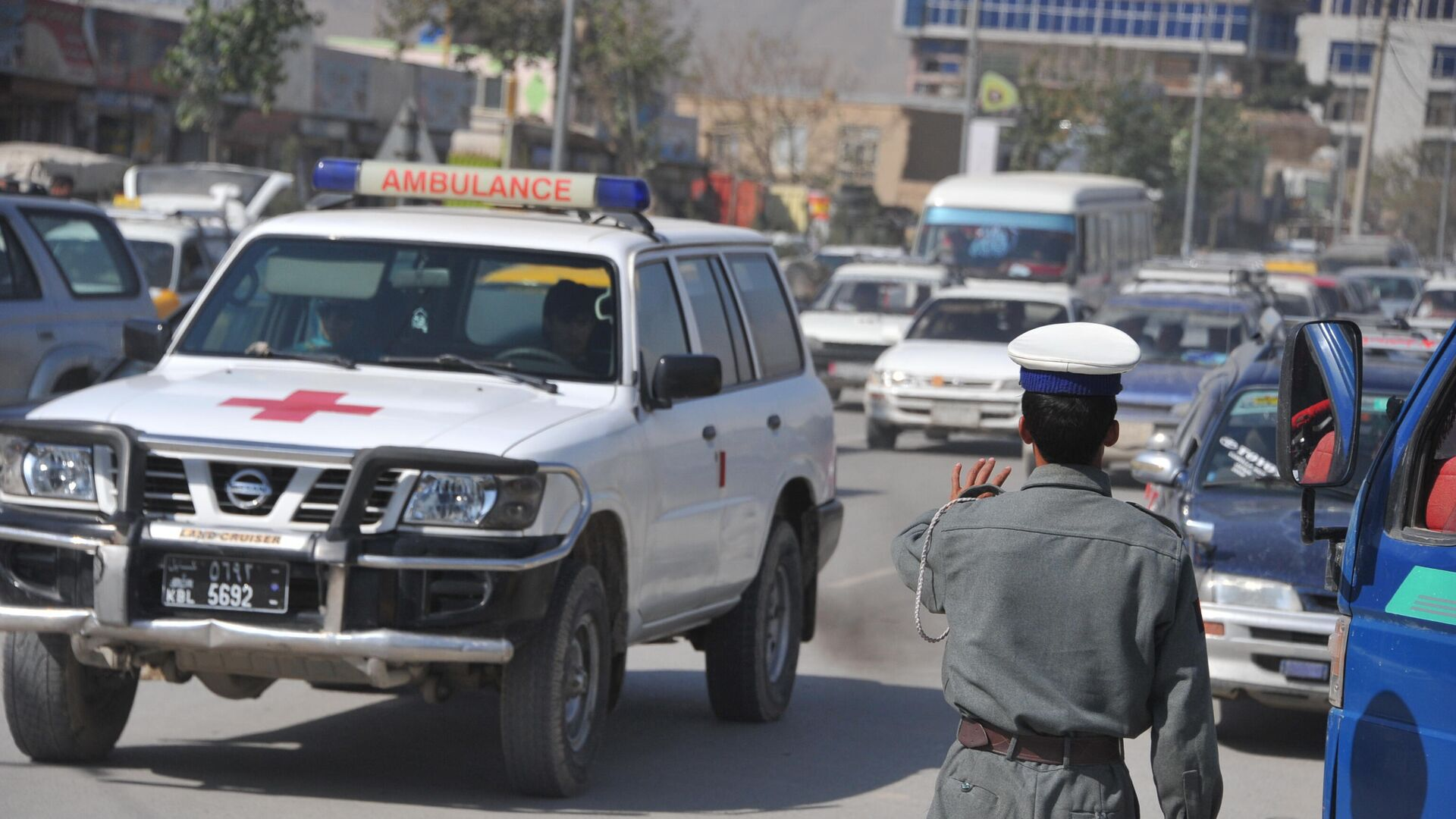 Krankenwagen in Kabul (Archiv) - SNA, 1920, 09.08.2021