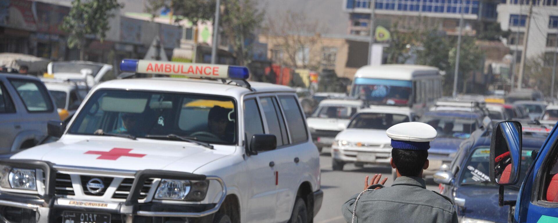 Krankenwagen in Kabul (Archiv) - SNA, 1920, 07.10.2021