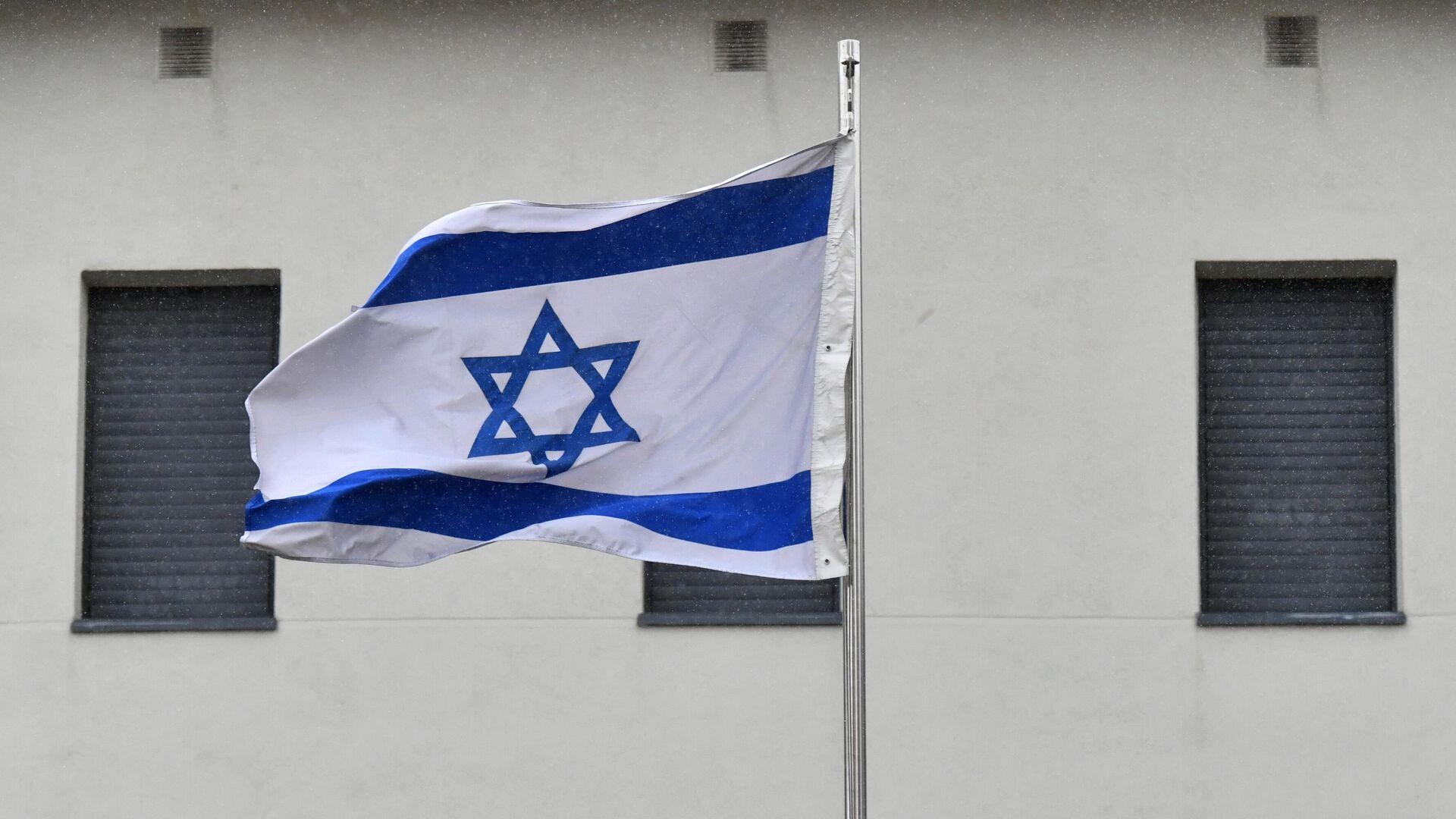 Israelische Flagge (Archiv) - SNA, 1920, 11.08.2021