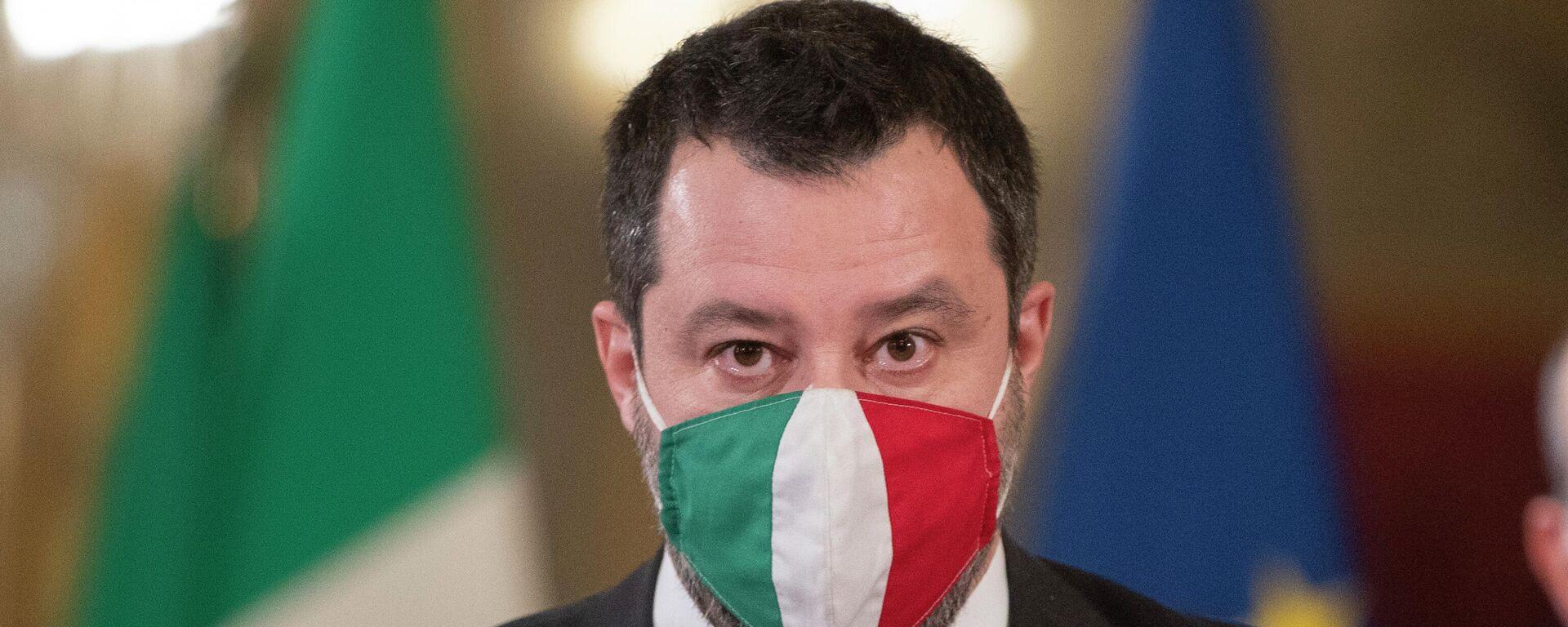 Matteo Salvini - SNA, 1920, 22.07.2021