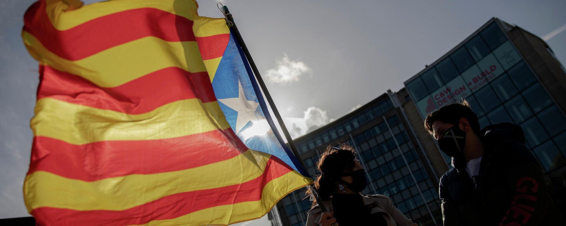 Katalanische Flagge (Archiv) - SNA, 1920, 17.05.2021