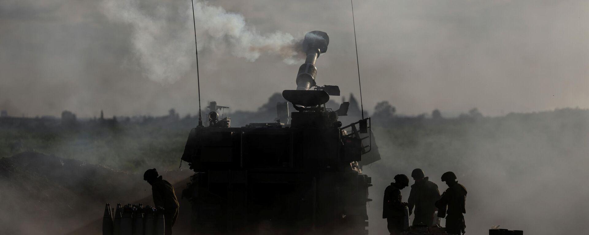 Soldaten der israelischen Armee an der Grenze zum Gazastreifen - SNA, 1920, 23.05.2021