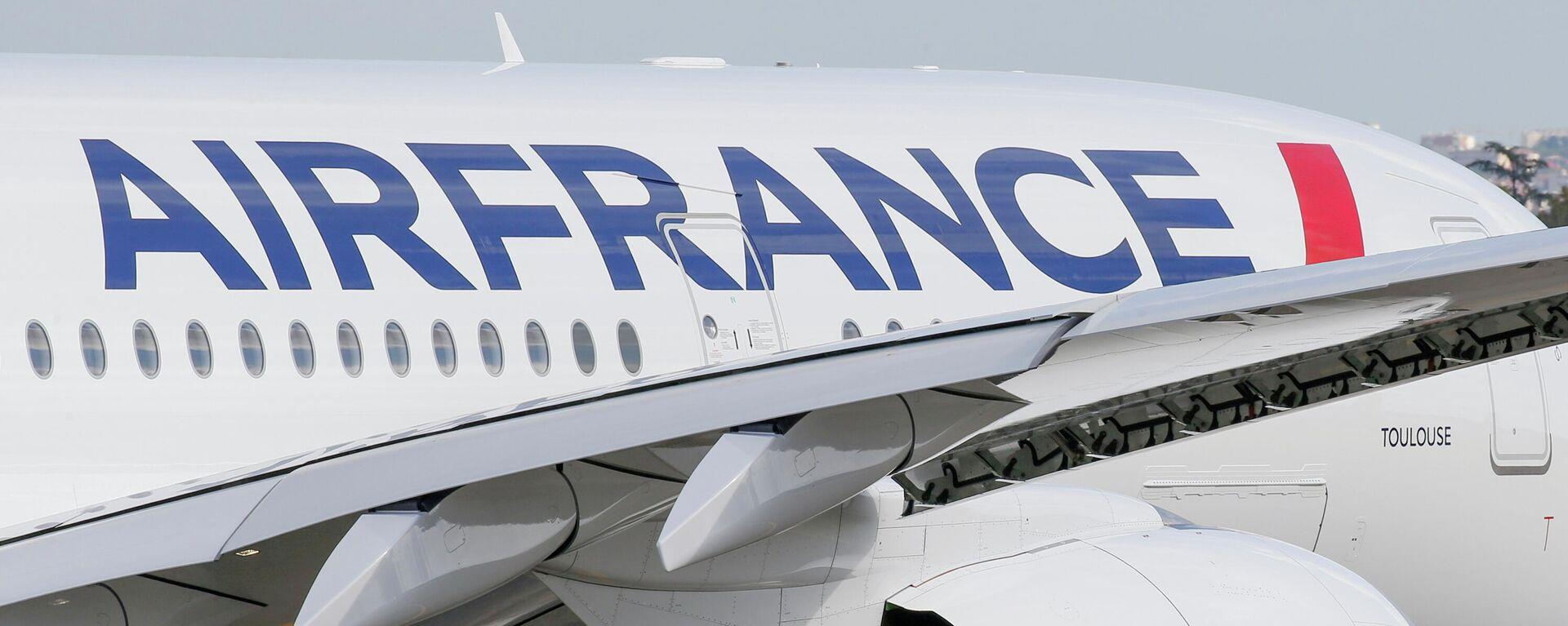 Die Fluggesellschaft Air France ( Airbus A350) - SNA, 1920, 25.05.2021