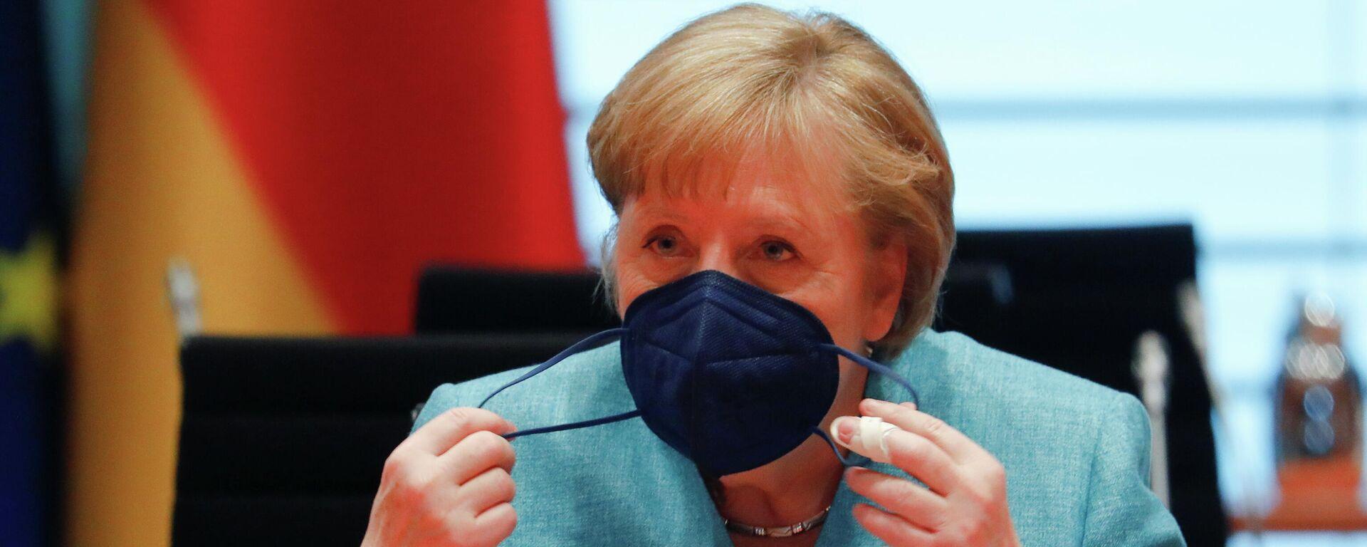 Bundeskanzlerin Angela Merkel - SNA, 1920, 20.05.2021