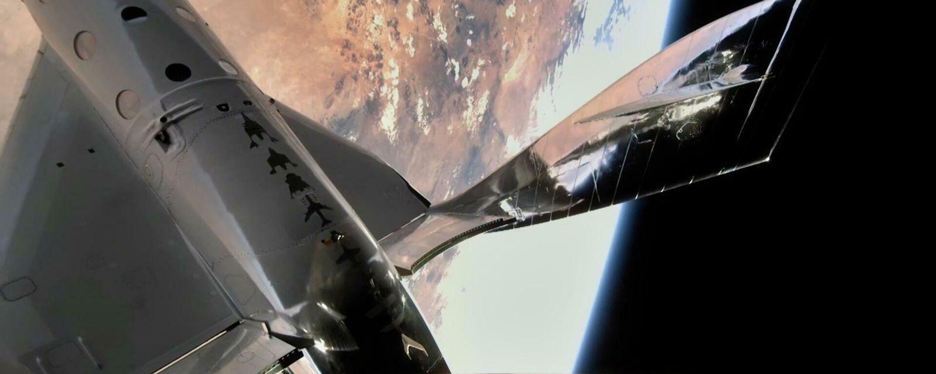 "Raumflugzeug ""VSS Unity"" im Weltall, der 22. Mai 2021 - SNA, 1920, 25.06.2021"