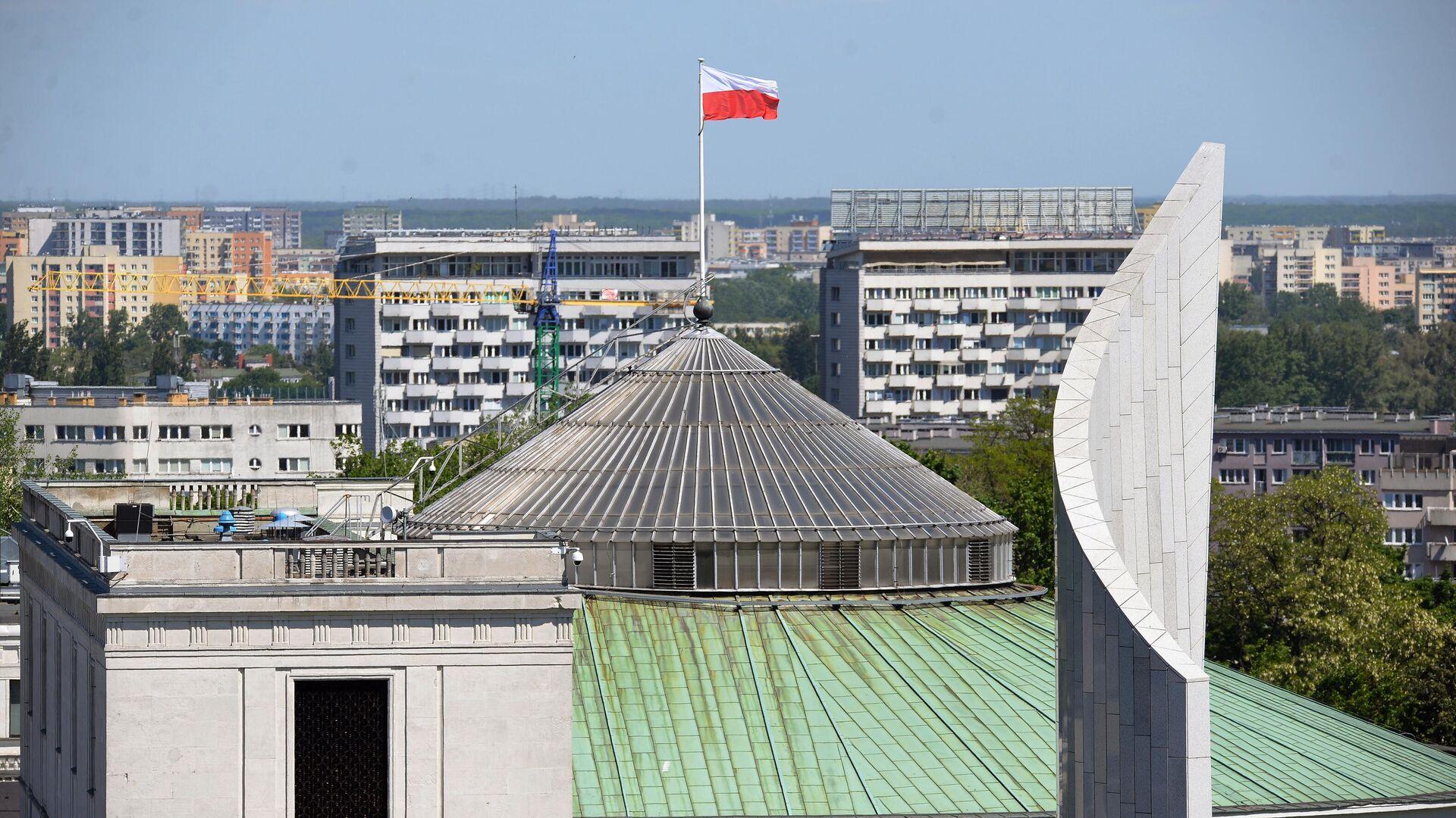 Das Gebäude des polnischen Sejm in Warschau - SNA, 1920, 16.09.2021
