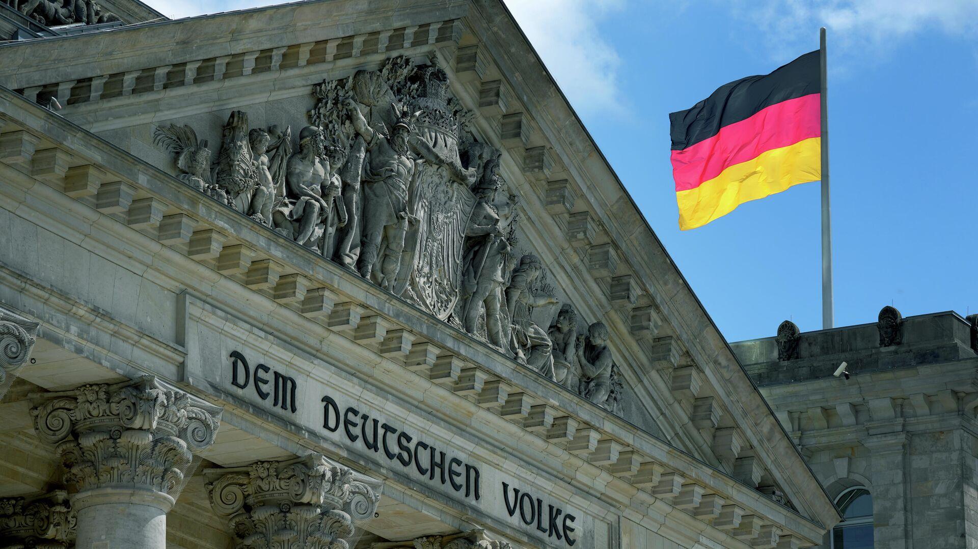 Reichstagsgebäude in Berlin - SNA, 1920, 08.07.2021