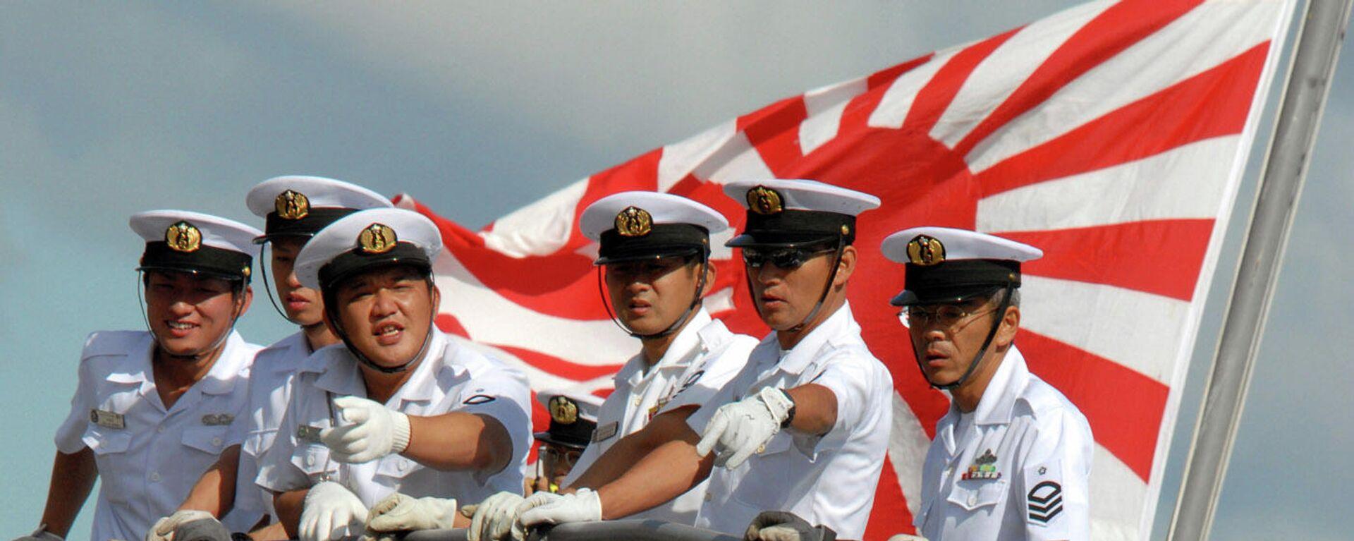 Angehörige der japanischen Maritime Selbstverteidigungsstreitkräfte (Symbolbild) - SNA, 1920, 24.05.2021