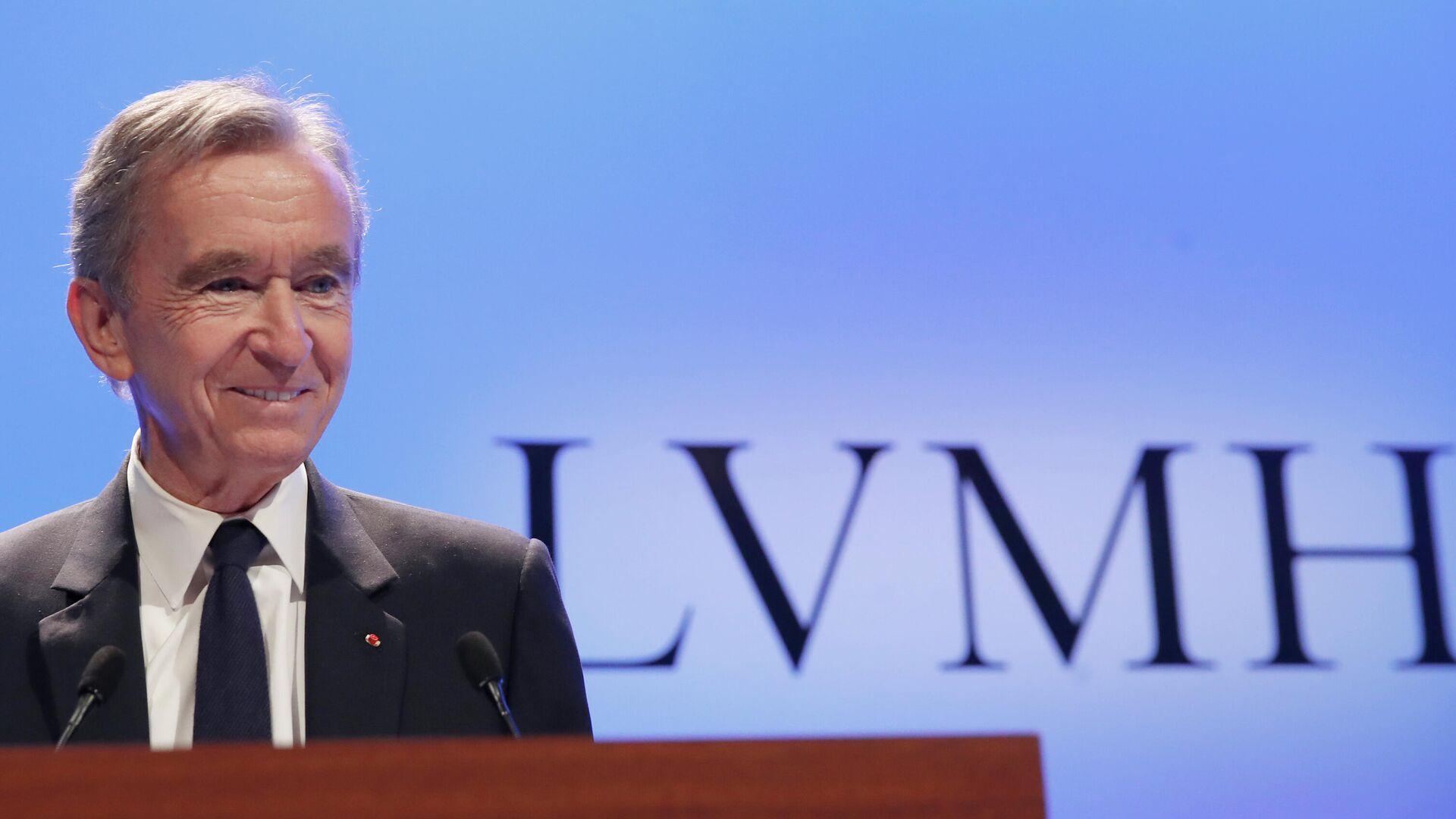 LVMH-CEO Bernard Arnault - SNA, 1920, 24.05.2021