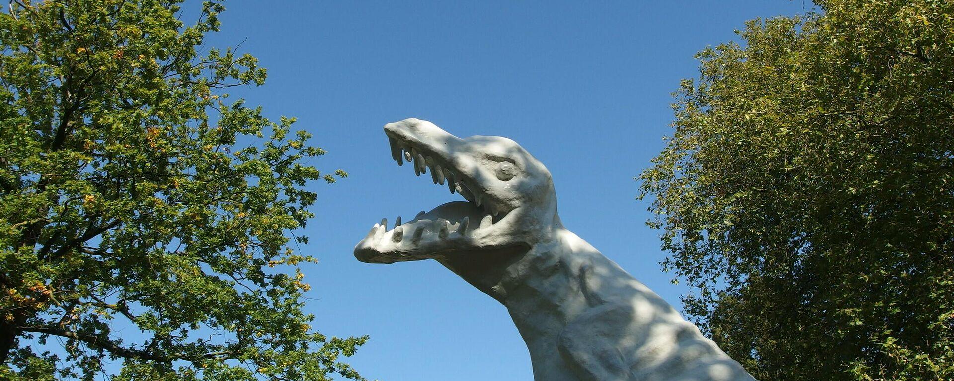 Dino-Statue (Symbolbild) - SNA, 1920, 25.05.2021